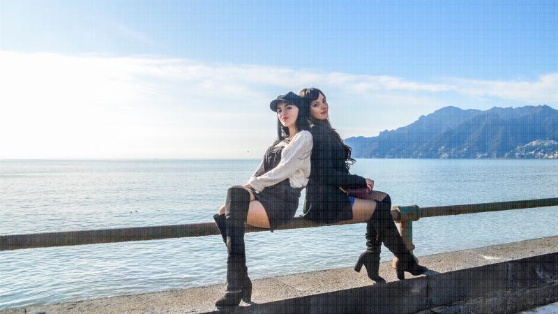 Promo shooting - Fabiola & Elena