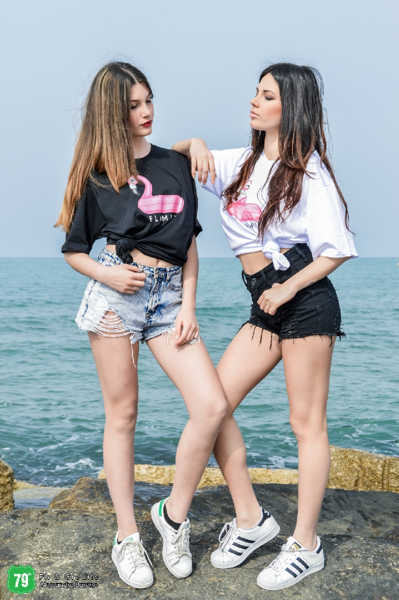 Fashion shooting - The sisters - Alessandra Bonavita - Martina Bonavita - Agency 79th