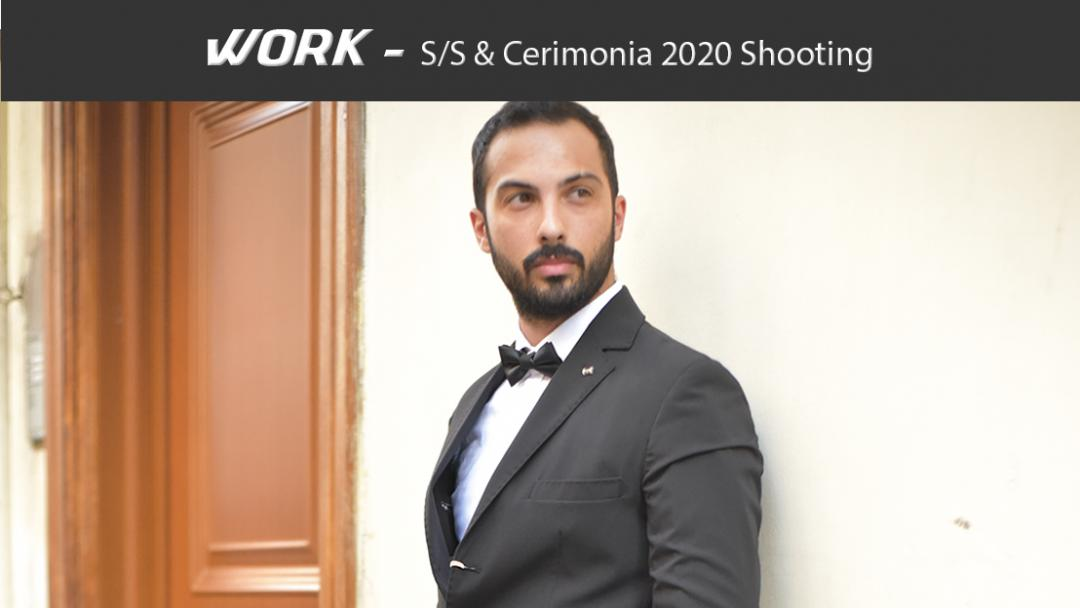 Shooting S/S & Cerimonia 2020 Uomo - Concept 79th