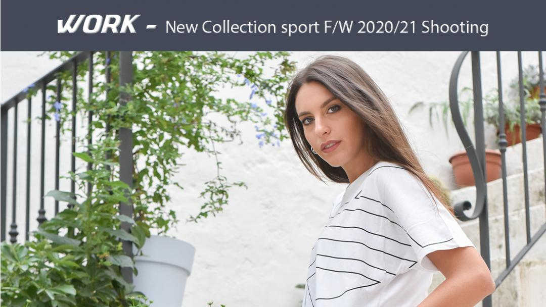 Shooting new collection sport F/W 2020/21 - Gemmati sport 79th